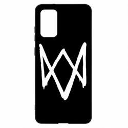 Чехол для Samsung S20+ Graffiti Watch Dogs logo