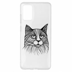 Чохол для Samsung S20+ Graphic cat