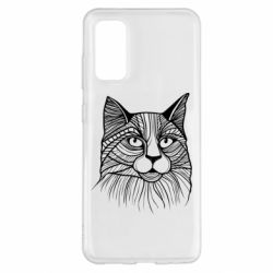 Чохол для Samsung S20 Graphic cat