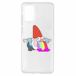 Чохол для Samsung S20+ Gravity Falls, dwarf and rainbow