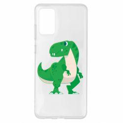 Чохол для Samsung S20+ Green little dinosaur