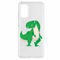 Чохол для Samsung S20 Green little dinosaur