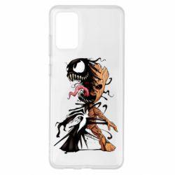 Чохол для Samsung S20+ Groot and Venom