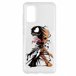 Чохол для Samsung S20 Groot and Venom