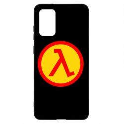 Чохол для Samsung S20+ Half Life Logo