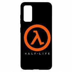Чехол для Samsung S20 Half-life logotype