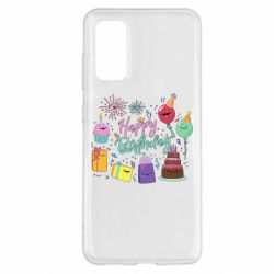 Чохол для Samsung S20 Happy Birthday