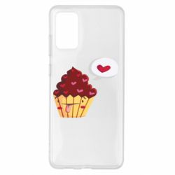 Чохол для Samsung S20+ Happy cupcake