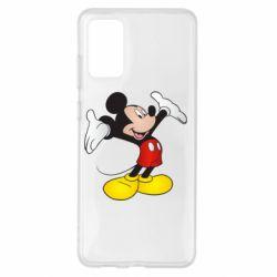 Чохол для Samsung S20+ Happy Mickey Mouse