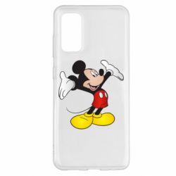 Чохол для Samsung S20 Happy Mickey Mouse