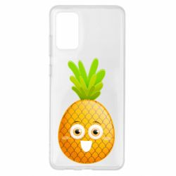 Чохол для Samsung S20+ Happy pineapple
