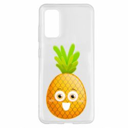 Чохол для Samsung S20 Happy pineapple
