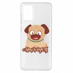 Чехол для Samsung S20+ Happy pug