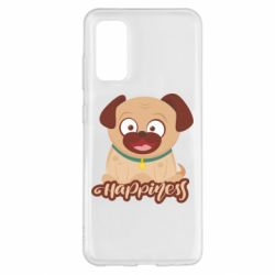 Чехол для Samsung S20 Happy pug