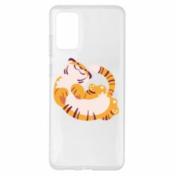 Чохол для Samsung S20+ Happy tiger