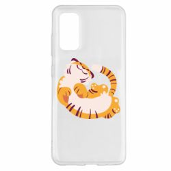 Чохол для Samsung S20 Happy tiger