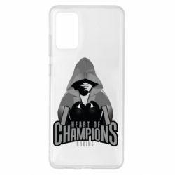 Чехол для Samsung S20+ Heart of Champions