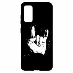 Чохол для Samsung S20 HEAVY METAL ROCK