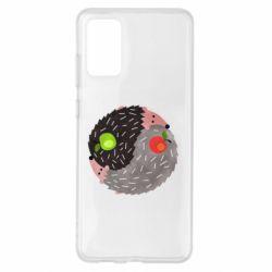 Чохол для Samsung S20+ Hedgehogs yin-yang