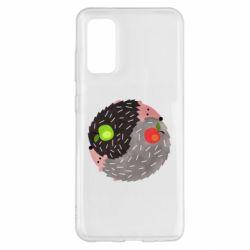 Чохол для Samsung S20 Hedgehogs yin-yang