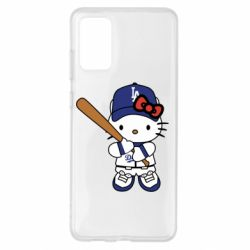 Чохол для Samsung S20+ Hello Kitty baseball