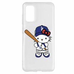 Чохол для Samsung S20 Hello Kitty baseball