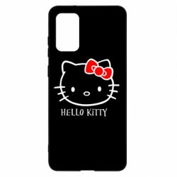 Чехол для Samsung S20+ Hello Kitty