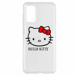 Чехол для Samsung S20 Hello Kitty