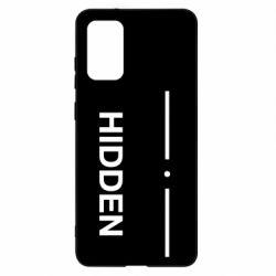 Чохол для Samsung S20+ Hidden