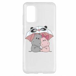 Чохол для Samsung S20 Hippos