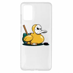 Чохол для Samsung S20+ Hockey duck