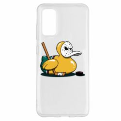 Чохол для Samsung S20 Hockey duck