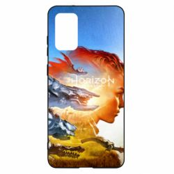 Чехол для Samsung S20+ Horizon Zero Dawn art