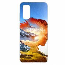 Чехол для Samsung S20 Horizon Zero Dawn art