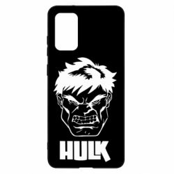 Чохол для Samsung S20+ Hulk face