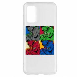Чохол для Samsung S20 Hulk pop art