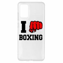 Чохол для Samsung S20+ I love boxing