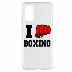 Чохол для Samsung S20 I love boxing