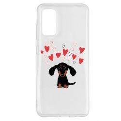 Чохол для Samsung S20 I love dachshund