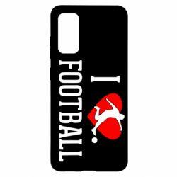 Чохол для Samsung S20 I love football