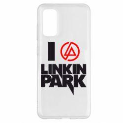 Чехол для Samsung S20 I love Linkin Park