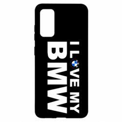 Чохол для Samsung S20 I love my BMW