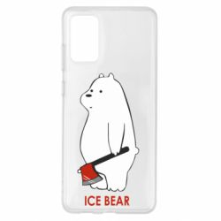 Чохол для Samsung S20+ Ice bear
