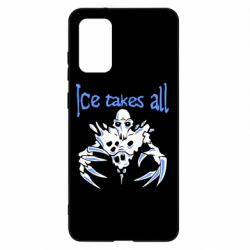 Чохол для Samsung S20+ Ice takes all Dota