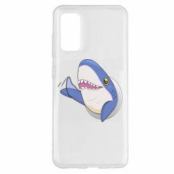 Чехол для Samsung S20 Ikea Shark Blahaj