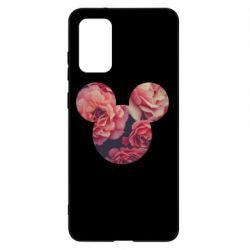 Чохол для Samsung S20+ Inner world flowers mickey mouse