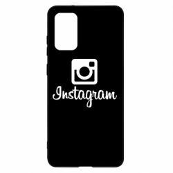 Чохол для Samsung S20+ Instagram