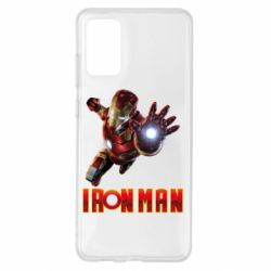 Чохол для Samsung S20+ Iron Man 2
