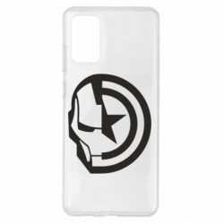 Чохол для Samsung S20+ Iron Man and Captain America