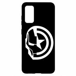 Чохол для Samsung S20 Iron Man and Captain America